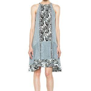 A.L.C Borchers Black White Dress - Small